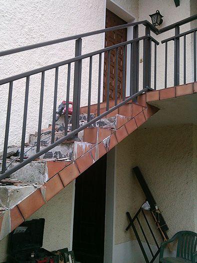R novation escalier ext rieur agnos 64 mc t for Tva applicable travaux renovation