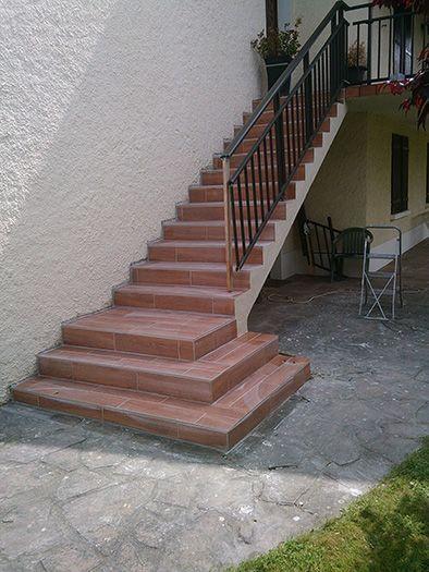 R novation escalier ext rieur agnos 64 mc t - Renovation escalier carrelage ...